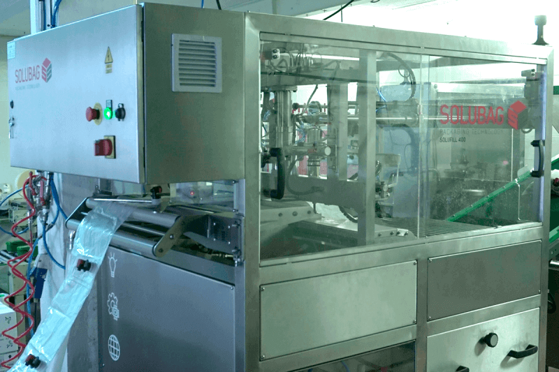 Solufill 400 bag-in-box automatic filling machine