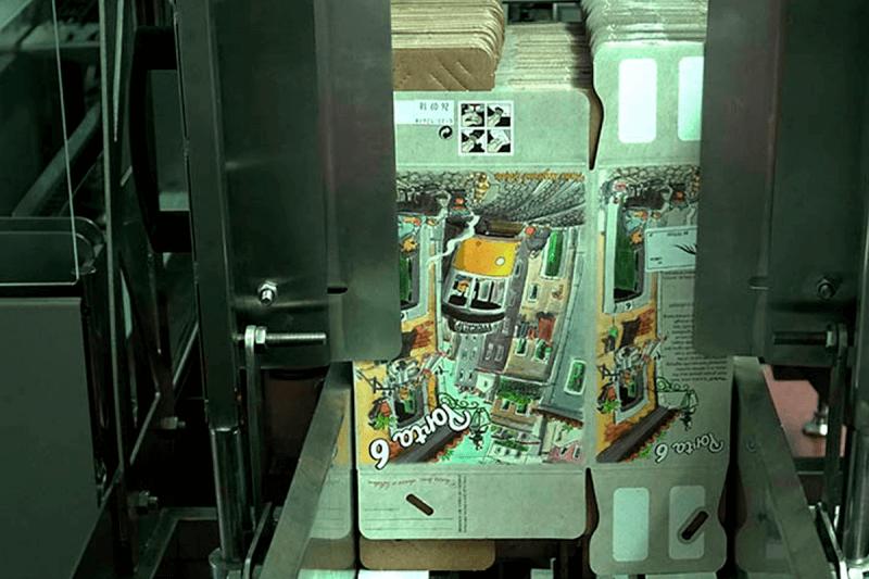 Soluform 100 former machine plain box position